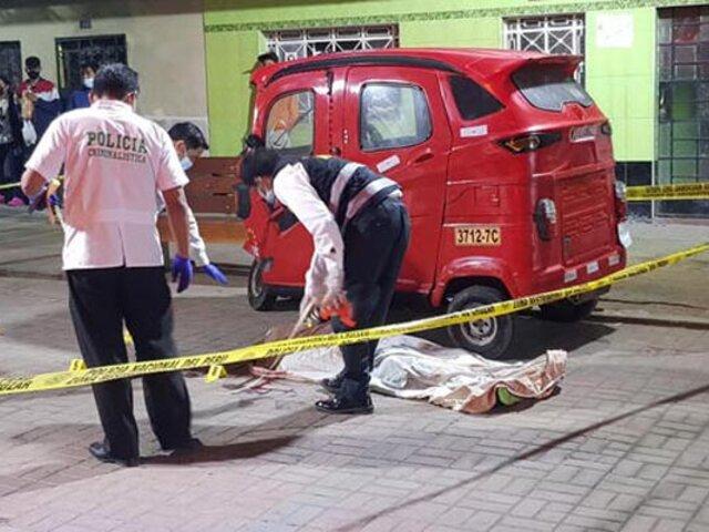 Matan de ocho balazos a trabajador de construcción civil en el Callao