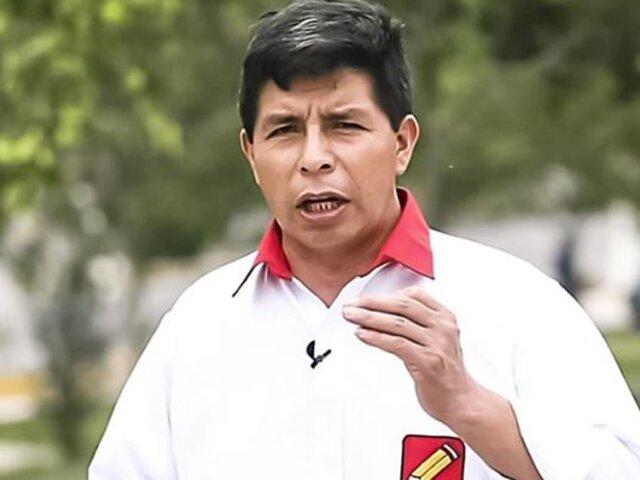 JEE no investigará a candidato Pedro Castillo por presunta  información falsa en hoja de vida