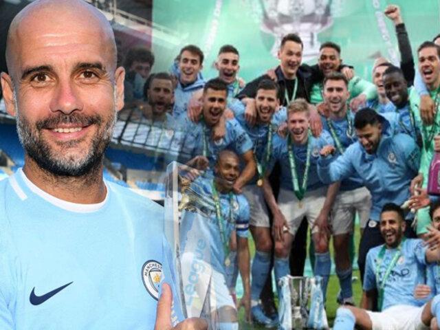Manchester City logra la cuarta Copa de la Liga consecutiva