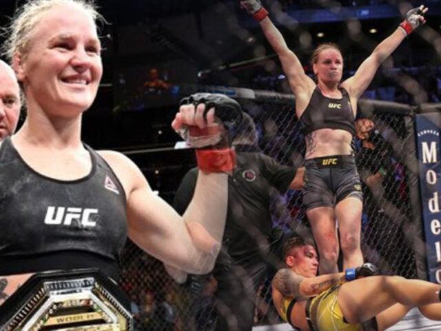 Valentina Shevchenko retuvo su título de la UFC
