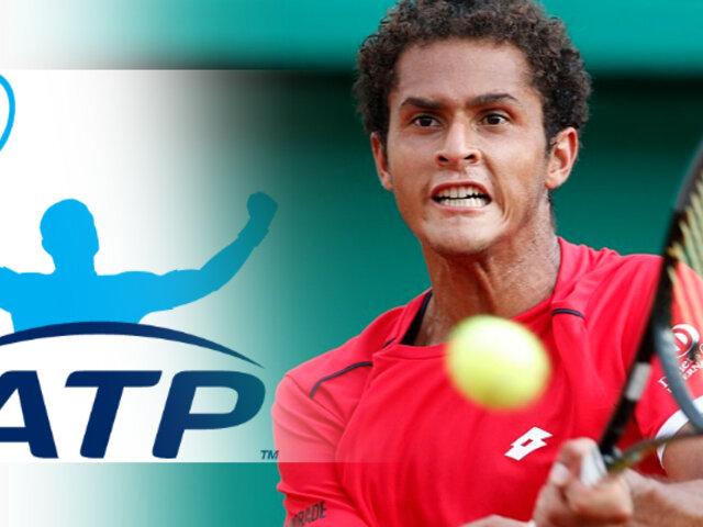 Tenis: Juan Pablo Varillas ascendió 10 posiciones en ranking ATP