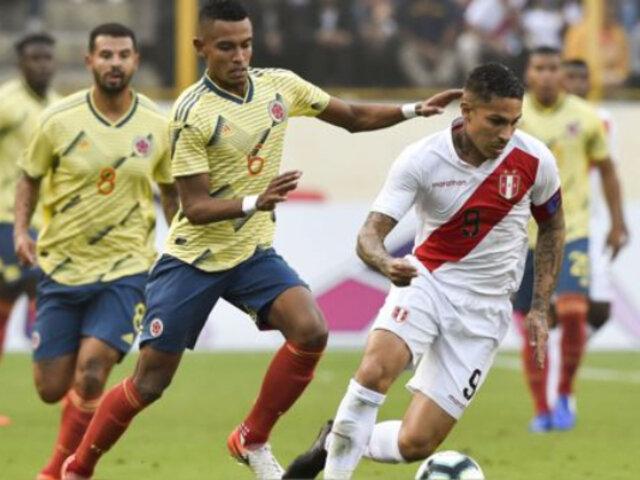 Perú vs. Colombia: hora y fecha que se jugará partido de vuelta por Eliminatorias Qatar 2022