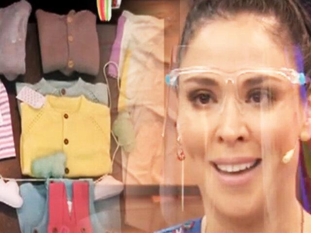 """Ropa para bebés: """"Ablu"""" el emprendimiento de Adriana Quevedo"""