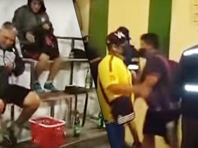 Comas: 20 personas fueron intervenidas por beber alcohol en  cancha deportiva
