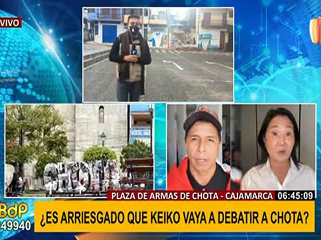 Cajamarca: ¿es posible organizar un debate en menos de 48 horas?