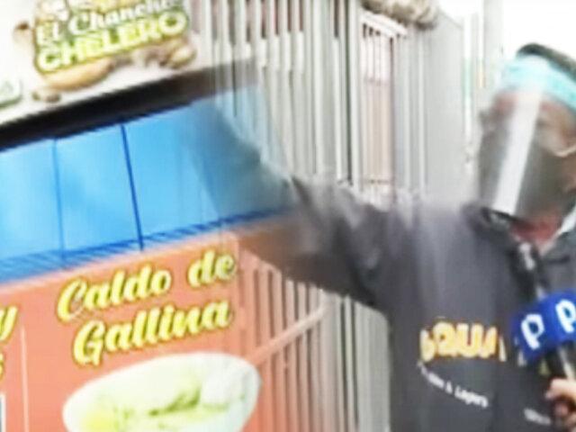 """Callao: En la avenida Tomás Valle muchas """"cantinas"""" operan bajo fachada de restaurantes"""