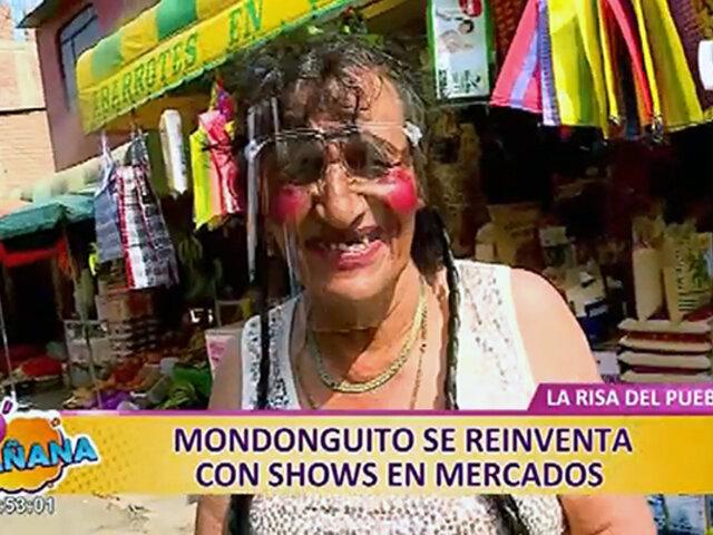 El querido 'Mondonguito' se reinventa y hace 'shows' en mercados