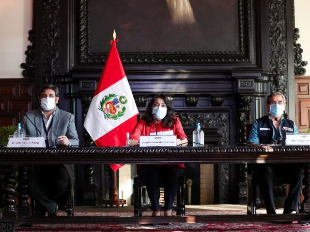 Ministros de Estado informarán hoy acciones frente a la pandemia
