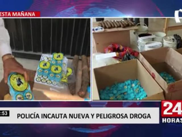 Policía Nacional incauta producto que sería peligroso para la salud