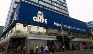 ONPE informa que  la franja electoral para la segunda vuelta electoral empezará el 25 de mayo