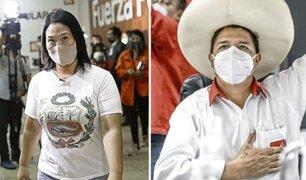 Keiko Fujimori vs Pedro Castillo: premier invoca a candidatos usar mascarilla durante debate