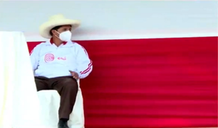 Cajamarca: Pedro Castillo espera a Keiko Fujimori en el estrado