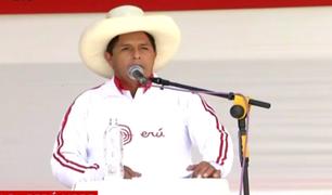 """Debate en Chota: Pedro Castillo propone crear el programa """"Pensión 60"""""""