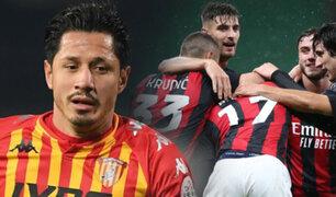 Gianluca Lapadula: Benevento cayó 2-0 ante AC Milan