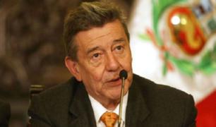 Falleció el excanciller Rafael Roncagliolo