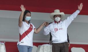 Así fue el primer debate entre Keiko Fujimori y Pedro Castillo de cara a la segunda vuelta