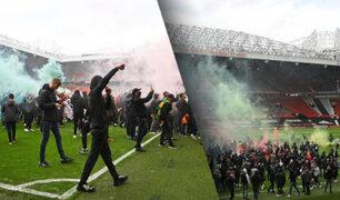 Clásico inglés fue suspendido tras invasión de hinchas a estadio