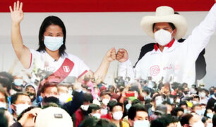 Lo que no se vio del debate entre Keiko Fujimori y Pedro Castillo en Chota