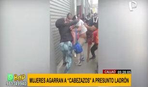 La Victoria: mujeres agarraron a golpes a presunto ladrón en Gamarra