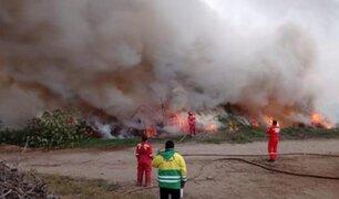 Alarma en Áncash: incendio forestal consume más de 30 hectáreas de pastizales