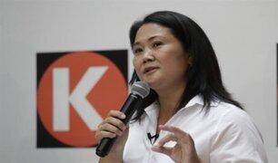 "Keiko Fujimori afirma que toma encuestas ""con mucha serenidad"""
