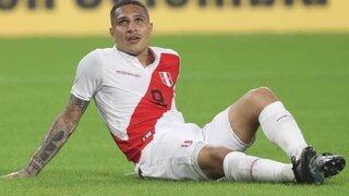 Selección Peruana: Guerrero quedaría descartado para la fecha doble de Eliminatorias y no jugaría la Copa América