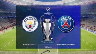 Manchester City vs PSG: hoy se conocerá al primer finalista de la UEFA Champions League