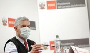 11.615 personas intervenidas por incumplir las medidas por pandemia, informó el Mininter