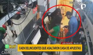 Los Olivos: caen 'Los injertos de La Victoria' cuando intentaban asaltar una casa de apuestas