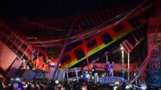 México: confirman que muertos se elevan a 23 por accidente en metro