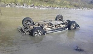 Caída de vehículo a río Mapacho deja dos muertos y un desaparecido en el Cusco