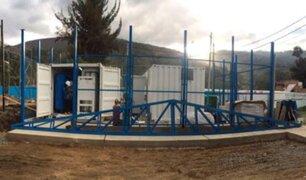 Covid-19: ponen en funcionamiento dos plantas de oxígeno medicinal en la región Áncash
