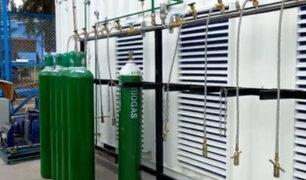 Áncash: Ponen en funcionamiento dos plantas de oxígeno medicinal en Huaraz