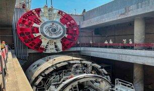 Linea 2: tuneladora comenzará a operar el próximo mes de julio