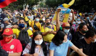 """Cancillería """"lamenta"""" actos de violencia en Colombia y """"exhorta"""" a perseverar el diálogo"""
