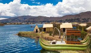 Lago Titicaca obtiene máxima distinción como recurso turístico en el mundo