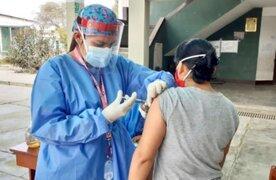 Minsa asegura que todos los mayores de 60 años estarán vacunados en julio