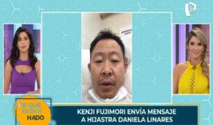 Kenji Fujimori dio positivo al covid-19 y su hijastra le envía emotivo mensaje