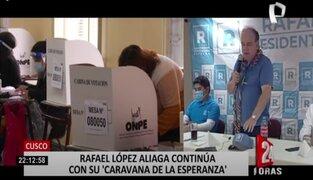 Rafael López Aliaga afirma que denunciará penalmente a toda la jefatura de la ONPE