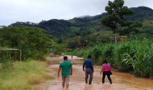 Senamhi prevé que la Selva soportará otro periodo de lluvias moderadas a fuertes