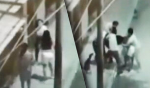 Tumbes: mujer agarra a golpes a venezolana que era la amante de su esposo