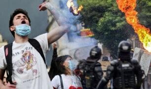 La Unión Europea y la ONU condenan el uso excesivo de la fuerza en Colombia