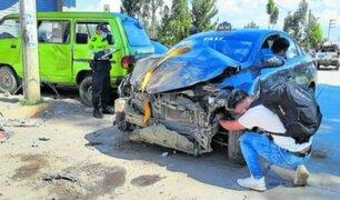 Niña pierde la vida tras ser embestida por vehículo frente a su casa en Huancayo