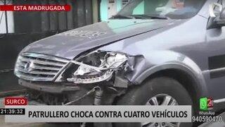Surco: dueño de auto chocado aseguró que no le quisieron aceptar denuncia en la comisaría