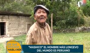 """Don """"Mashico"""": el hombre más longevo del mundo es peruano"""