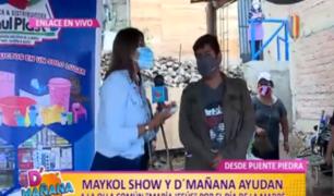 D'Mañana celebró por su día a mamitas de olla común 'María Jesús' en Puente Piedra