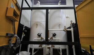 Lambayeque: Ponen en funcionamiento planta de oxígeno en hospitales EsSalud