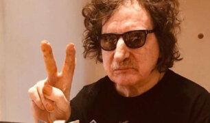 Charly García recibió primera dosis de vacuna rusa Sputnik V contra covid-19