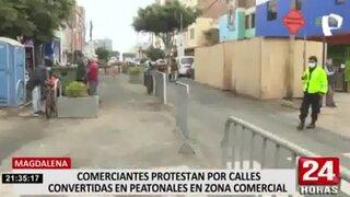 Magdalena: comerciantes denuncian perdieron clientes por restricciones aplicadas en zona comercial