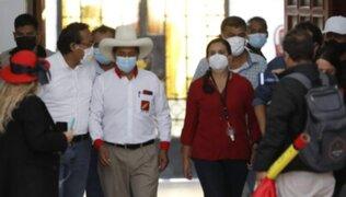"""Vocera de Juntos por el Perú: """"Confiamos en el compromiso firmado con Pedro Castillo"""""""